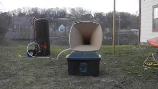 Homemade PVC air ship horn