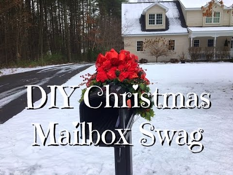 Diy christmas mailbox swag inexpensive how to youtube diy christmas mailbox swag inexpensive how to solutioingenieria Gallery
