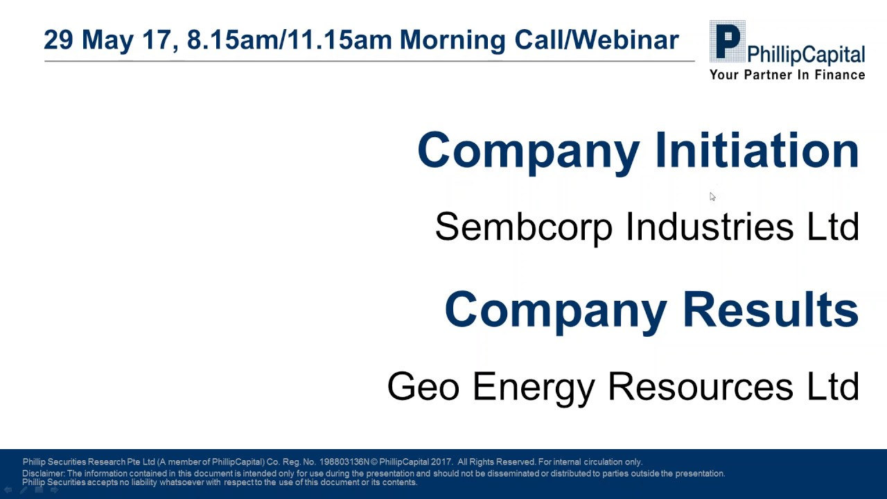 Market outlook sembcorp industries initiation and geo energy market outlook sembcorp industries initiation and geo energy results sciox Image collections
