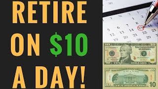 How to Become Rich | Retire on $10 a day