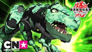 Bakugan BakuBios: Trox  | Cartoon Network