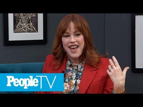 Molly Ringwald On Giving Shailene Woodley Sex Advice On Set - PeopleTV - 동영상