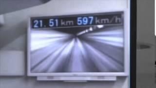 603 km/h: record du monde de vitesse pour le train japonais Maglev