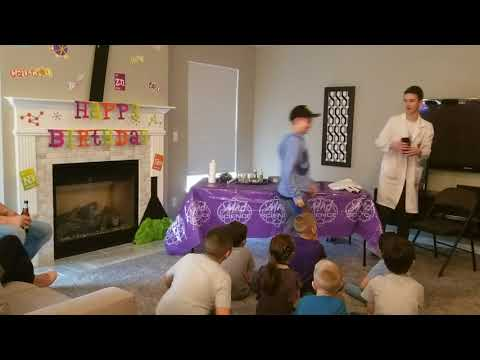 Mad Science 7th Birthday Party