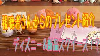 【視聴者さんからのプレゼント】ディズニー&新品スクイーズ!?