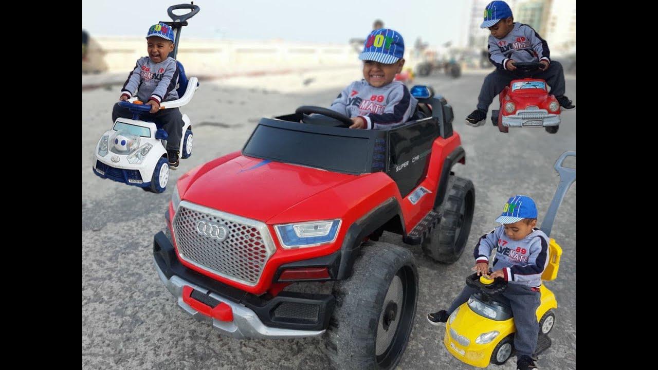 قصه اللعب معا الاطفال ب السيارات   story Children play with cars