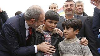 Пашинян выполнил обещание перед 11-летним мальчиком! Навестил и лично проверил работу