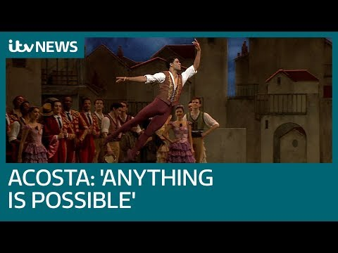 'Anything is possible' - Carlos Acosta's message to up and coming ballet stars | ITV News