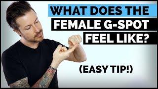What Does The Female G-Spot Feel Like? (Easy Tip)