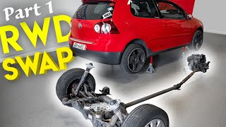 Can we make a RWD Volkswagen GTI? | Pt 1