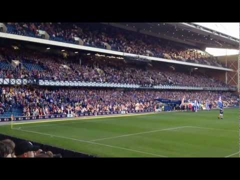 45,000 Fans Sing Penny Arcade at Rangers 4 - East Fife 0 League Cup 07/08/12