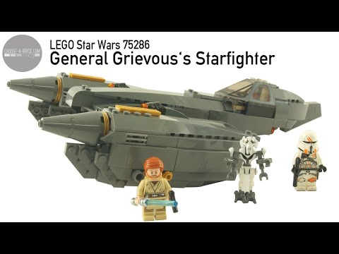 LEGO 75286 General Grievous's Starfighter - Speed Build