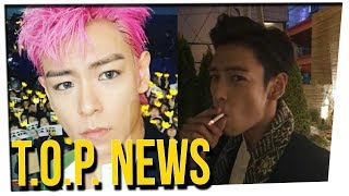Big Bang's T.O.P. Hospitalized After Getting in Trouble for Vaping ft. DavidSoComedy