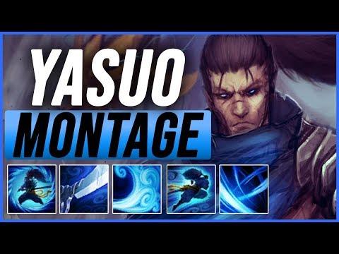 Yasuo Montage 3 - Best Yasuo Plays Pre-season 9 - League of Legends thumbnail