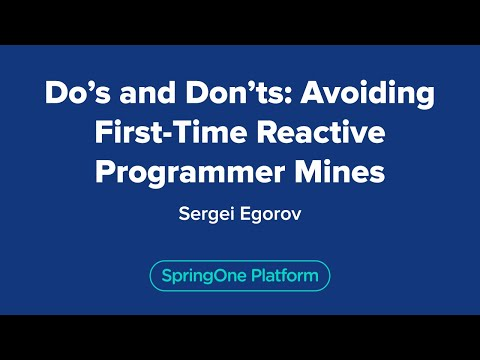 Do's and Don'ts: Avoiding First-Time Reactive Programmer Mines