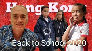 Sudah masuk sekolah  di Hong Kong.Apa kata mereka?  Hong Kong back to school . vlog.