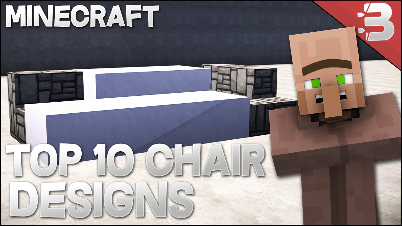 Couch Designs Pictures top 10 - minecraft modern chair / couch designs in minecraft