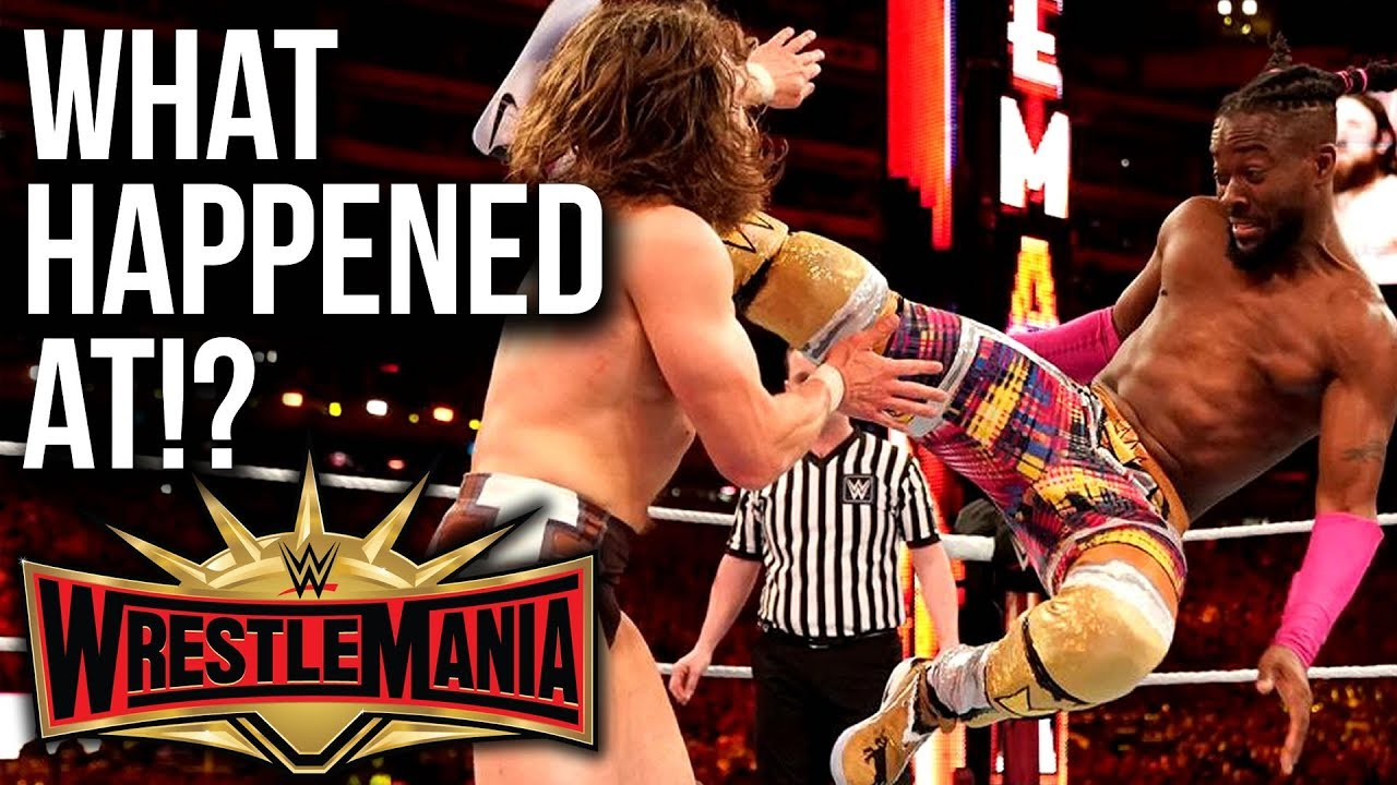 WHAT HAPPENED AT: WWE WrestleMania 35