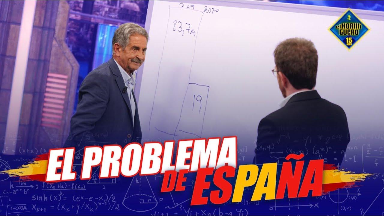 ¡Claro y conciso! Miguel Ángel Revilla explica el reto económico del futuro de España -El Hormiguero
