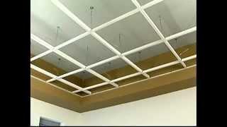 HG-Grid Vinyl Suspended Ceiling Grid Installation