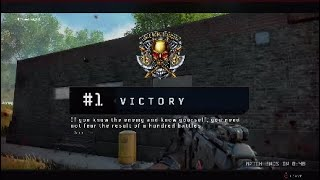 First Win | COD: Blackout