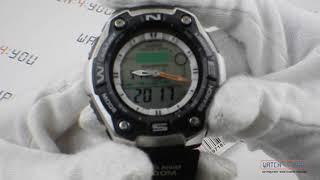 Часы для рыбаков. Обзор и настройка функций Casio AQW-101-1AVER
