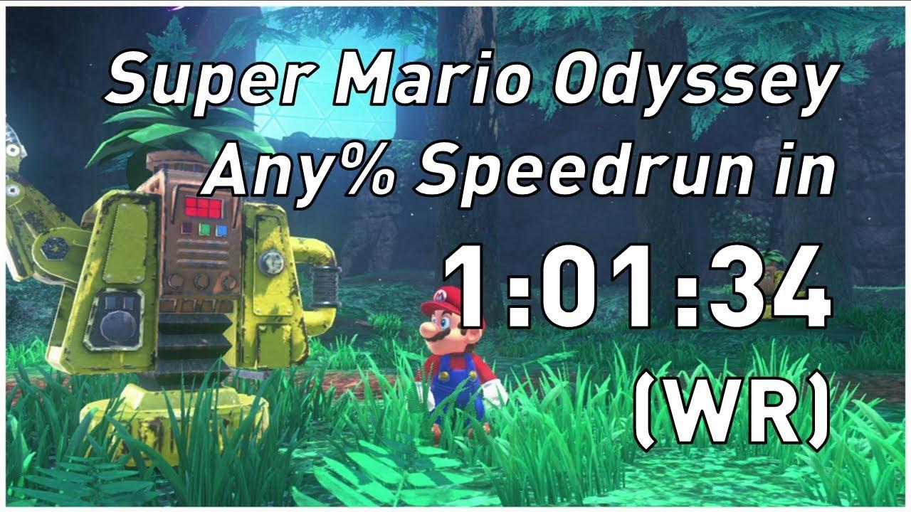 Another world record in Super Mario Odyssey has speedrun