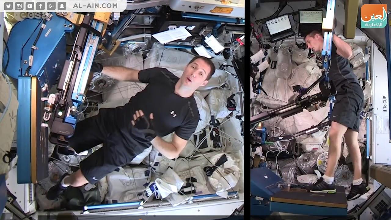 Photo of كيف يمارس رائد الفضاء الرياضة في المحطة الدولية؟ – الرياضة