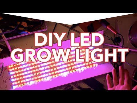 29 paneles de luz LED Grow para bricolaje que puede hacer en su casa 6