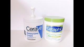 CeraVe vs Cetaphil Body Cream/…