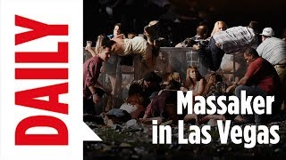 Massaker in Las Vegas: Augenzeugen berichten / BILD Reporter vor Ort BILD Daily live 02.10.17