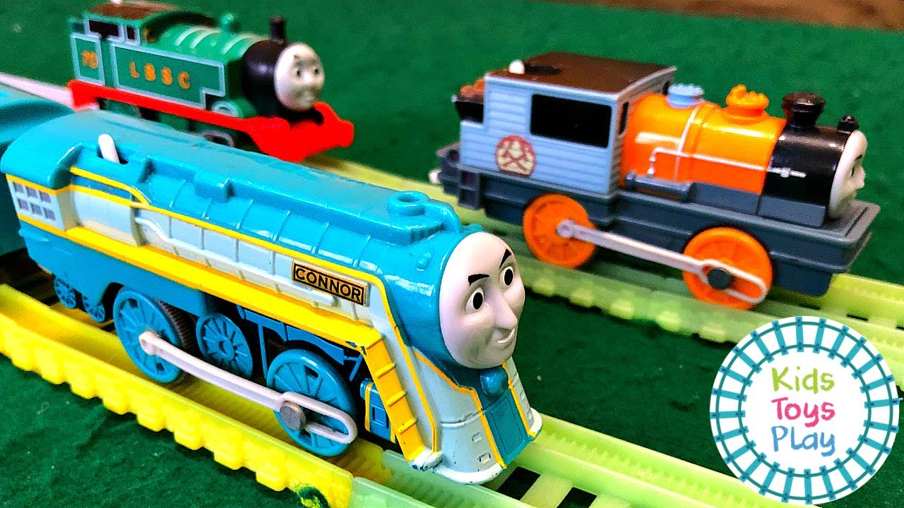 Thomas and Friends Worlds Strongest Engine Toy Train Races