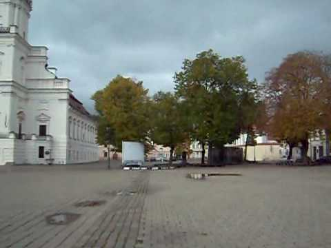 City Hall Square in kaunas, Lithuania
