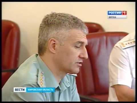 Визит А. Парфенчикова, директора ФССП РФ (ГТРК Вятка)