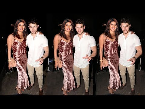 Priyanka Chopra Looks So Happy With Bf Nick Jonas @her pre WEDDING Party Before MARRIAGE In Jodhpur
