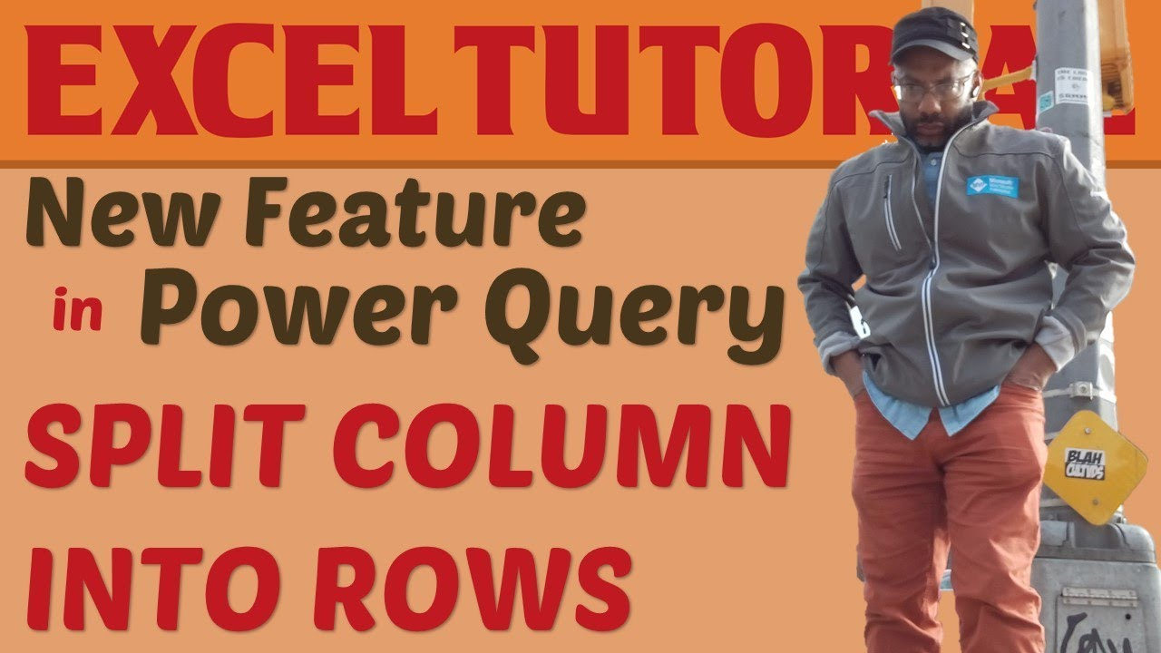 Power Query: Split Column by Delimiter and Split into Rows