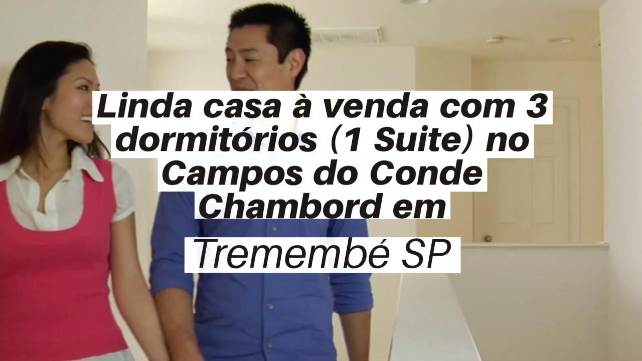 Linda Casa A Venda Com 3 Dormitorios No Campos Do Conde Chambord Em Tremembe Sp Youtube