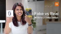 How to identify a fake Mi Band 3
