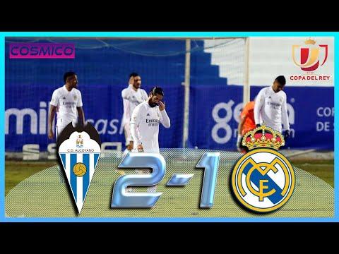 ALCOYANO 2 - 1 REAL MADRID / Resumen y goles - Narración AUDIO COPE - COPA DEL REY