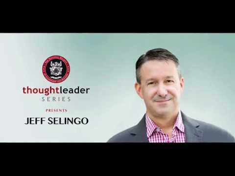 Thought Leader Series Presents:  Jeff Selingo