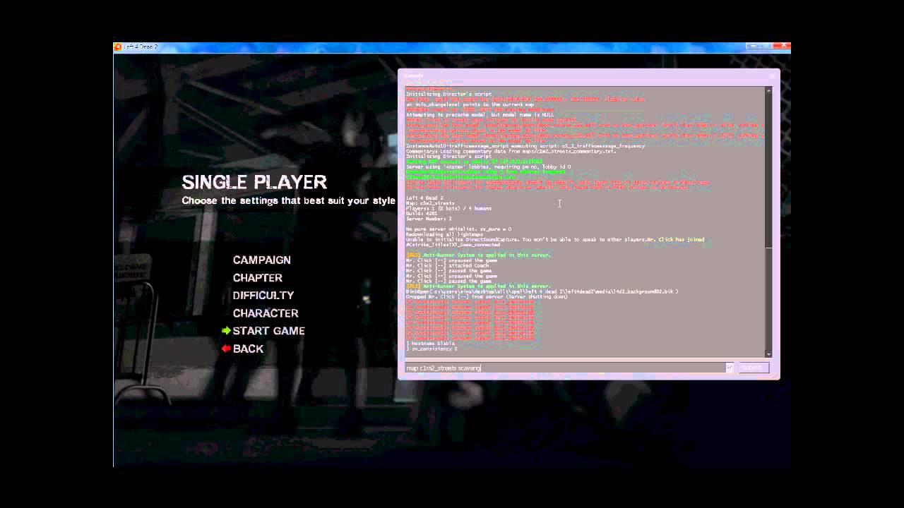 Left 4 Dead 2 - How To Make A Server - LAN / Online