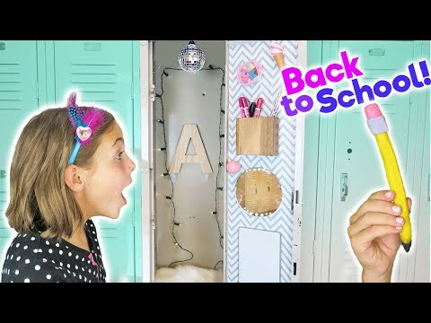 Back To School Compilation | DIY Fashion Locker and Edible School Supplies | Kids Cooking and Crafts