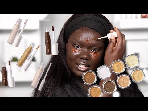 LETS TALK ABOUT IT! Fenty Beauty Foundations, Concealers, Setting Powders || Nyma Tang