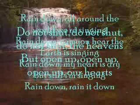 RAINDOWN with lyrics and chords by delirious