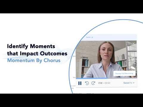 Momentum by Chorus - Impact Deal Outcomes