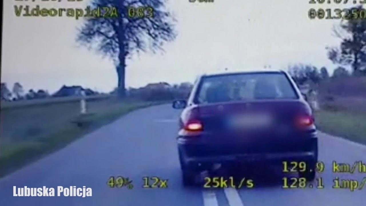 Pościg za 19-letnim kierowcą bez uprawnień. W akcji policyjna grupa SPEED