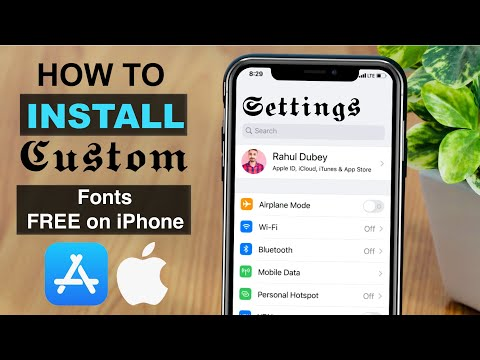 How To ℑ𝔫𝔰𝔱𝔞𝔩𝔩 ℭ𝔲𝔰𝔱𝔬𝔪 𝔉𝔬𝔫𝔱𝔰 On IPhone For Free? (No Jailbreak Needed)