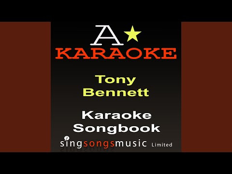 Because Of You (Originally Performed By Tony Bennett) (Karaoke Audio Version)