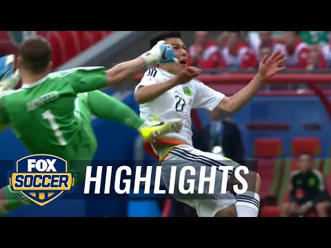 Hirving Lozano gives Mexico 2-1 lead | 2017 FIFA Confederations Cup Highlights