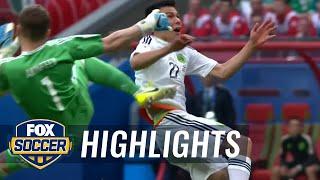 Hirving Lozano gives Mexico 2-1 lead   2017 FIFA Confederations Cup Highlights